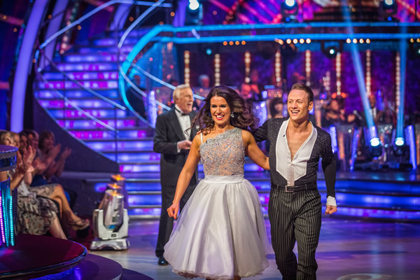 Susanna Reid partners Kevin Clifton in Strictly Come Dancing 2013