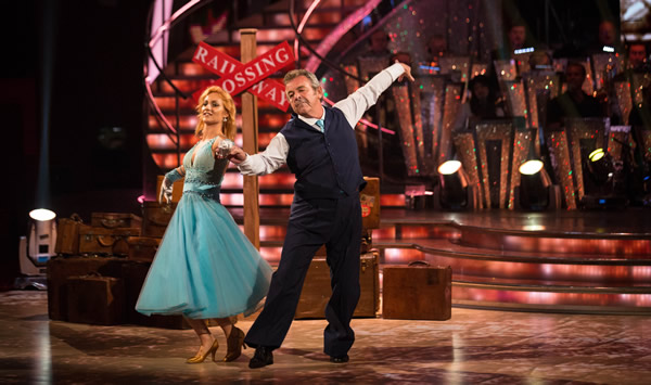 Tony Jacklin and Aliona Vilani In Week 1 Of Strictly Come Dancing 2013