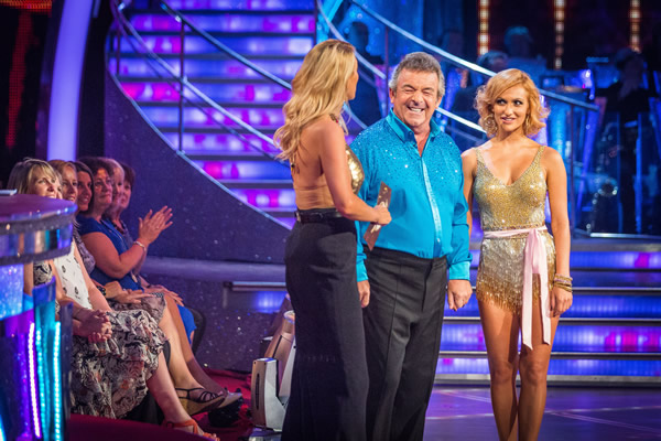 Tony Jacklin partners Aliona Vilani in Strictly Come Dancing 2013