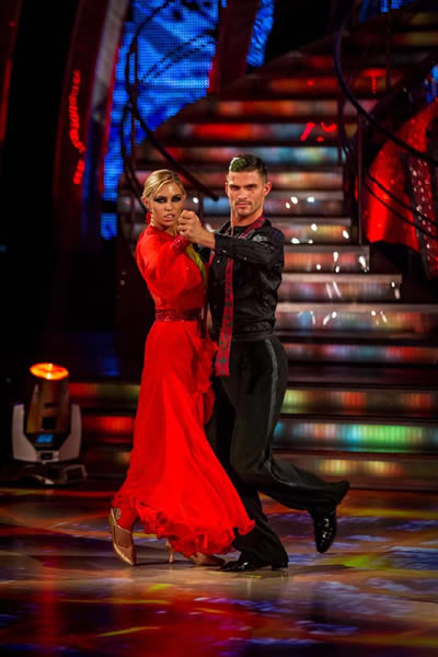 Abbey Clancy and Aljaz Skorjanec Perform In Week 4 Of Strictly Come Dancing 2013