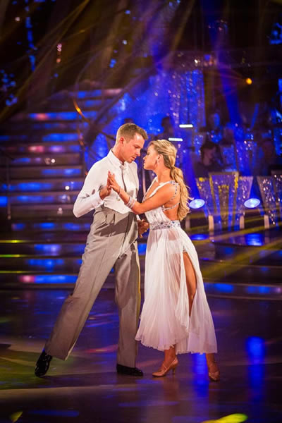 Ashley Taylor Dawson and Ola Jordan Perform In Week 4Of Strictly Come Dancing 2013