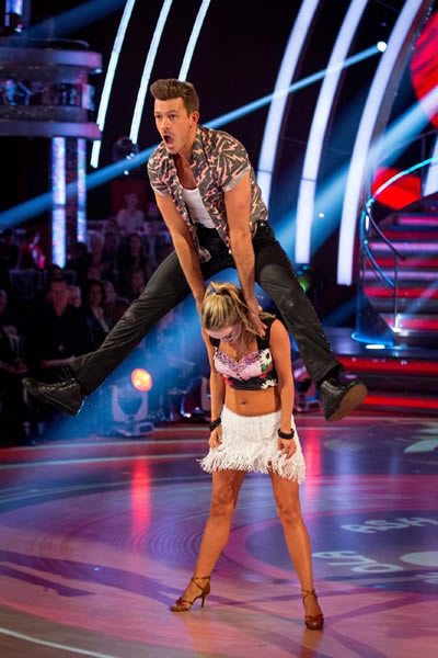 Ashley Taylor Dawson and Ola Jordan Perform In Week 5 Of Strictly Come Dancing 2013