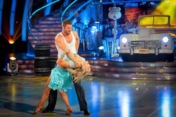 Ben Cohen And Kristina Rihanoff Perform In Week 4 Of Strictly Come Dancing 2013