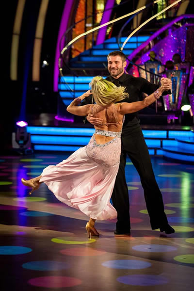 Ben Cohen And Kristina Rihanoff Perform In Week 5 Of Strictly Come Dancing 2013