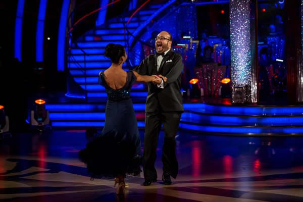 Dave Myers And Karen Hauer Perform In Week 4 Of Strictly Come Dancing 2013