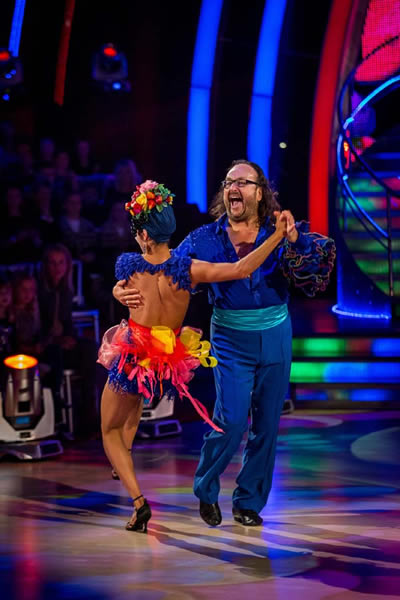 Dave Myers And Karen Hauer Perform In Week 5 Of Strictly Come Dancing 2013