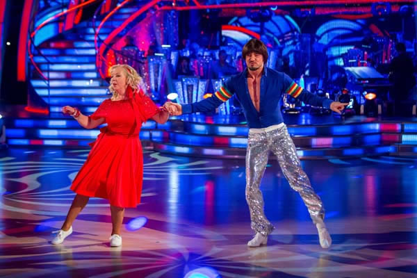 Deborah Meaden and Robin Windsor Perform In Week 4 Of Strictly Come Dancing 2013