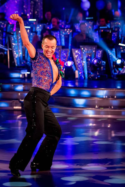 Julian Macdonald Performs In Week 4 Of Strictly Come Dancing 2013