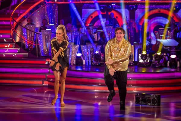 Mark Benton and Iveta Lukosiute Perform In Week 4 Of Strictly Come Dancing 2013 Image courtesy of BBC