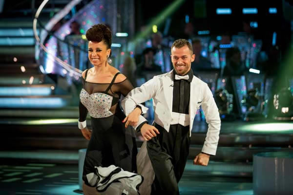 Natalie Gumede and Artem Chigvinstev Perfrom In Week 4 of Strictly Come Dancing 2013