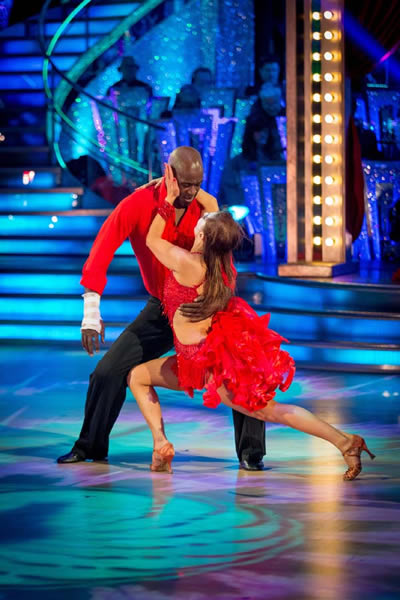 Patrick Robinson and Anya Garnis Perform In Week 5 Of Strictly Come Dancing 2013