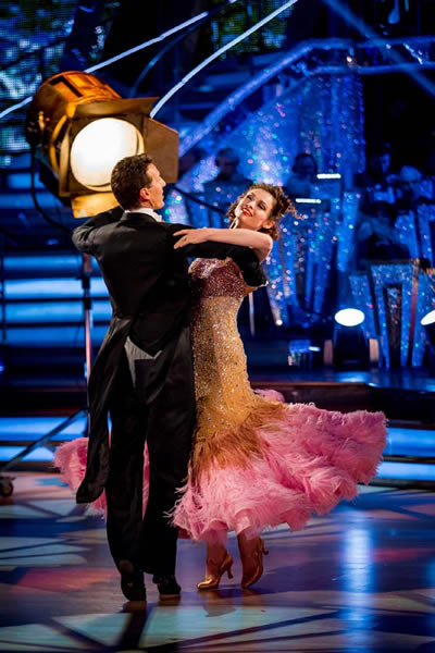 Sophie Ellis-Bextor and Brendan Cole Perform In Week 4 Of Strictly Come Dancing 2013