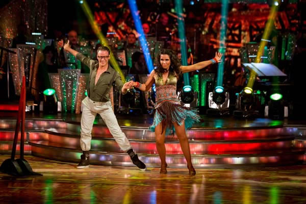 Susanna Reid and Kevin Clifton Perform In Week 4 Of Strictly Come Dancing 2013