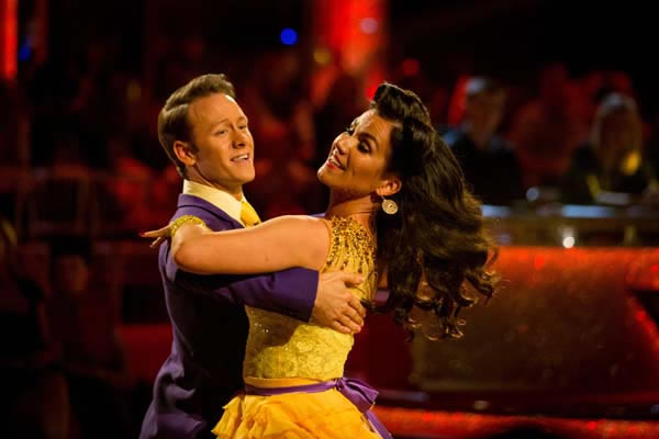 Susanna Reid and Kevin Clifton Perform In Week 5 Of Strictly Come Dancing 2013