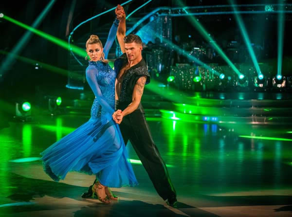 Abbey Clancy and Aljaz Skorjanec Perform In Week 9 Of Strictly Come Dancing 2013