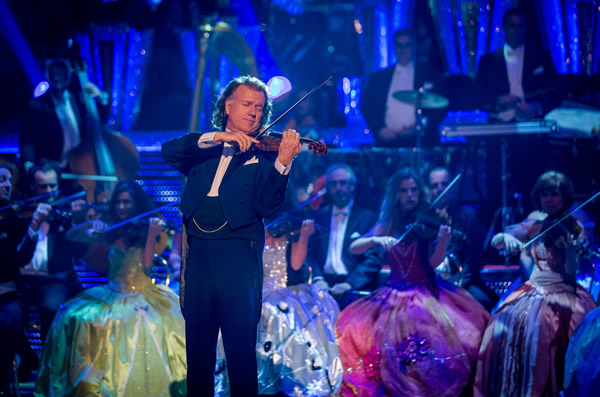 Andre Rieu Plays On The Results Show At Blackpool In Strictly Come Dancing 2013