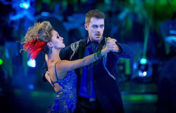 Ashley Taylor Dawson and Ola Jordan Perform In Week 6 Of Strictly Come Dancing 2013