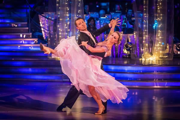 Ashley Taylor Dawson and Ola Jordan Perform In Week 9 Of Strictly Come Dancing 2013