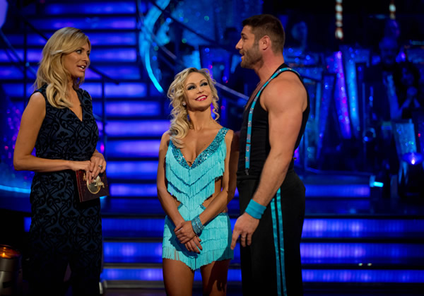 Ben Cohen And Kristina Rihanoff Leave Strictly Come Dancing 2013 In Week 9