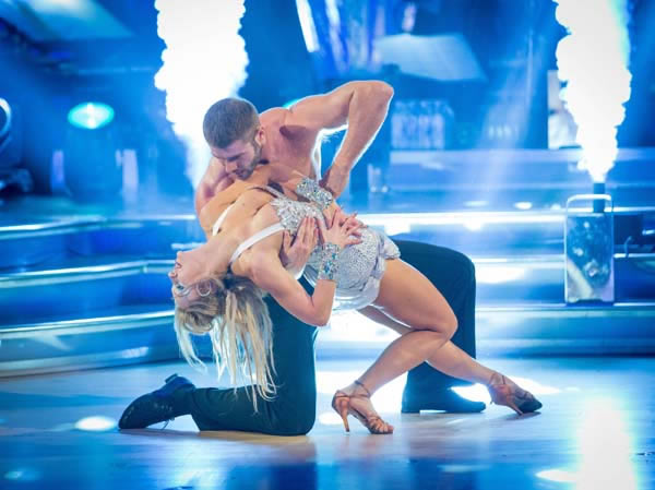 Ben Cohen And Kristina Rihanoff Perform In Week 6 Of Strictly Come Dancing 2013