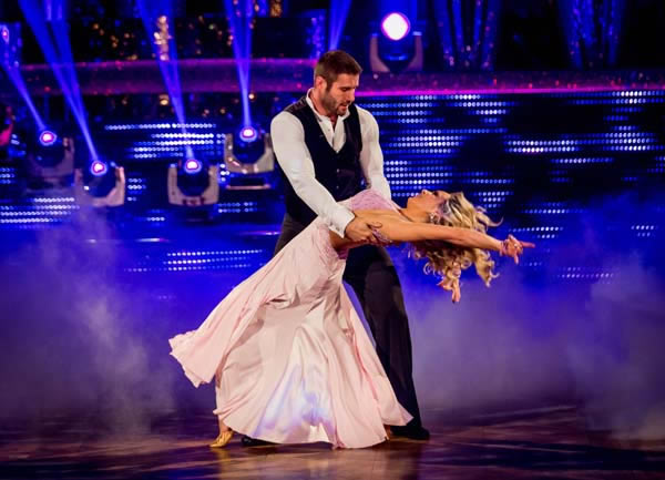 Ben Cohen And Kristina Rihanoff Perform In Week 8 Of Strictly Come Dancing 2013