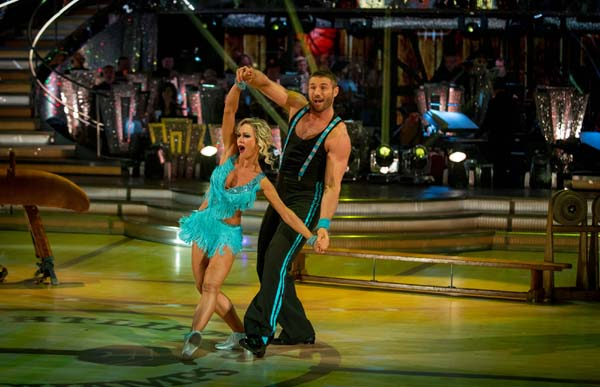 Ben Cohen And Kristina Rihanoff Perform In Week 9 Of Strictly Come Dancing 2013