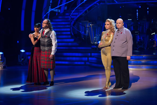 Dave Myers And Karen Hauer Face Mark Benton and Iveta Lukosiute In The  Week 7 Dance-Off In Strictly Come Dancing 2013