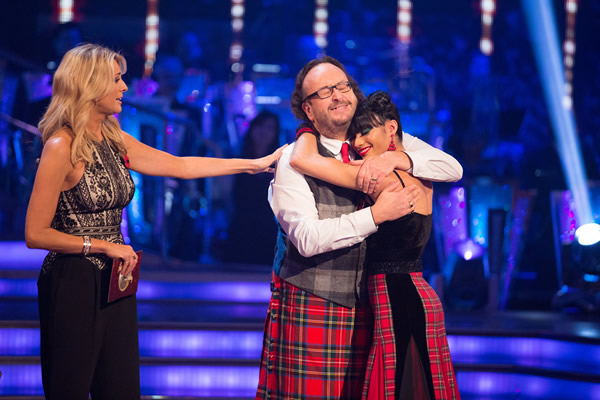 Dave Myers And Karen Hauer Leave Strictly Come Dancing 2013 In Week 7