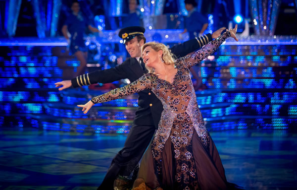 Fiona Fullerton and Anton DuBeke Perform In Week 8 Of Strictly Come Dancing 2013
