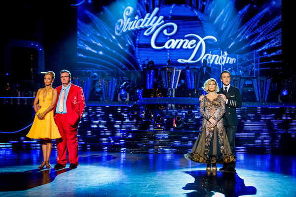 Mark Benton and Iveta Lukosiute Face Fiona Fullerton and Anton DuBeke In The Week 8 Dance-Off Of Strictly Come Dancing 2013