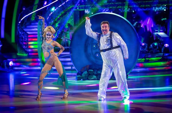 Mark Benton and Iveta Lukosiute Perform In Week 6 Of Strictly Come Dancing 2013