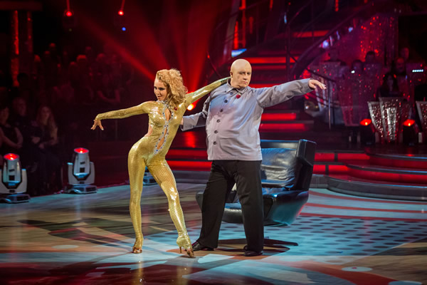 Mark Benton and Iveta Lukosiute Perform In Week 7 Of Strictly Come Dancing 2013