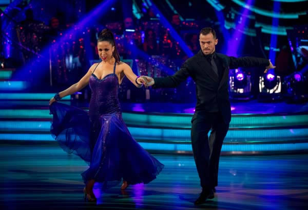 Natalie Gumede and Artem Chigvinstev Perform On Week 9 Of Strictly Come Dancing 2013