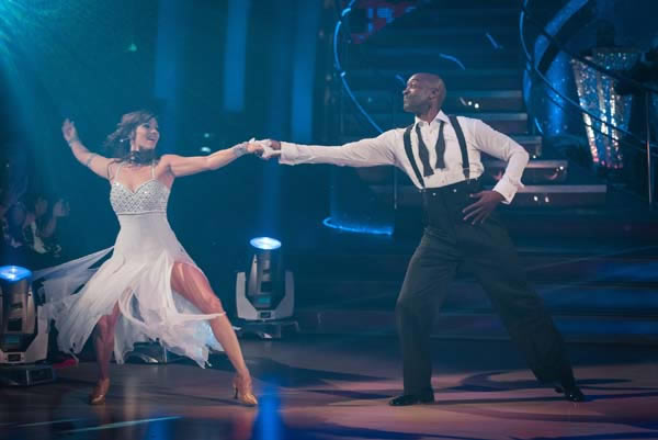 Patrick Robinson and Anya Garnis Perform In Week 9 Of Strictly Come Dancing 2013