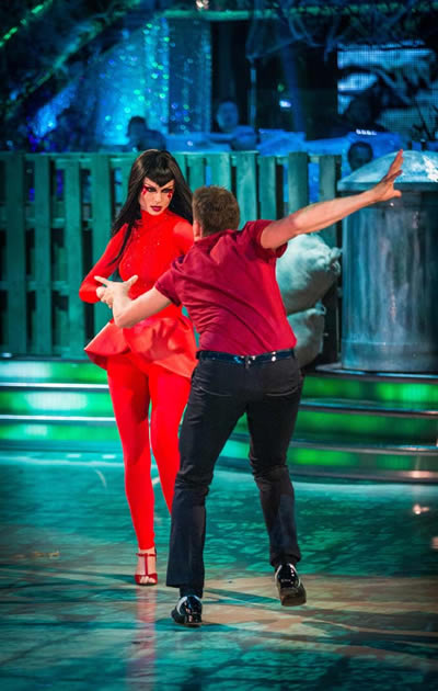 Sophie Ellis-Bextor and Brendan Cole Perform In Week 6 Of Strictly Come Dancing 2013