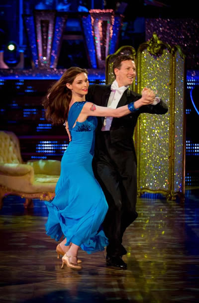 Sophie Ellis-Bextor and Brendan Cole Perform In Week 8 Of Strictly Come Dancing 2013