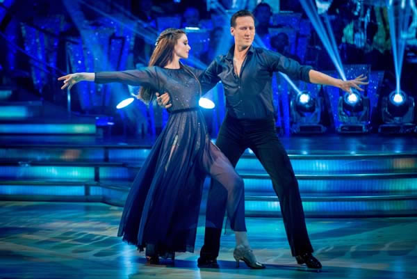 Sophie Ellis-Bextor and Brendan Cole Perform In Week 9 Of Strictly Come Dancing 2013