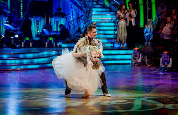 Rachel Riley And Pasha Kovalev  Perform In The Dance-Off During Week 6 Of Strictly Come Dancing 2013