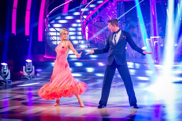 Ashley Taylor Dawson and Ola Jordan  Perform In Week 7 Of Strictly Come Dancing