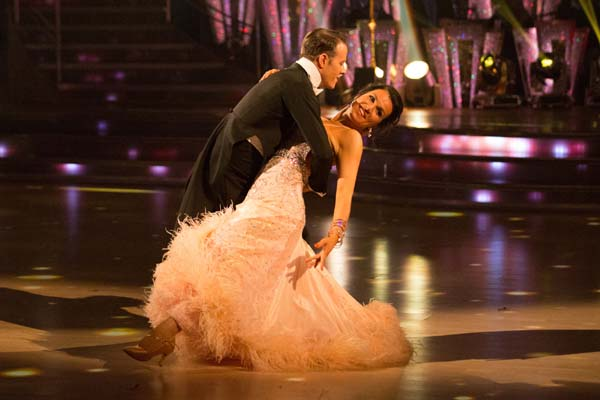 Susanna Reid and Kevin Clifton  Perform In Week 7 Of Strictly Come Dancing