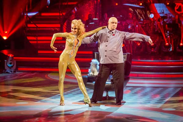 Mark Benton and Iveta Lukosiute  Perform In Week 7 Of Strictly Come Dancing