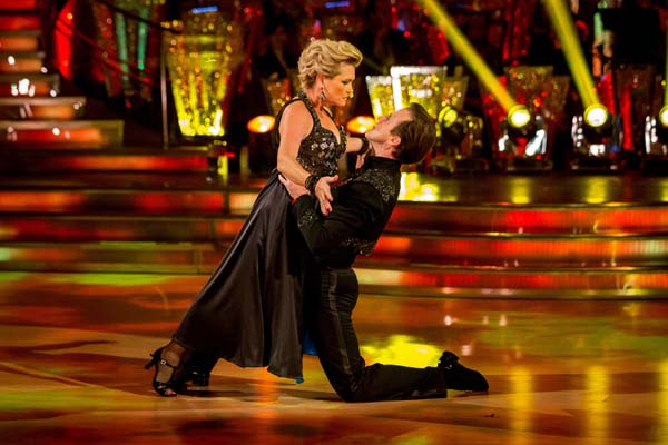 Fiona Fullerton and Anton DuBeke  Perform In Week 7 Of Strictly Come Dancing