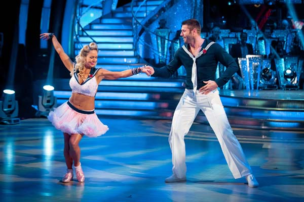 Ben Cohen And Kristina Rihanoff  Perform In Week 7 Of Strictly Come Dancing
