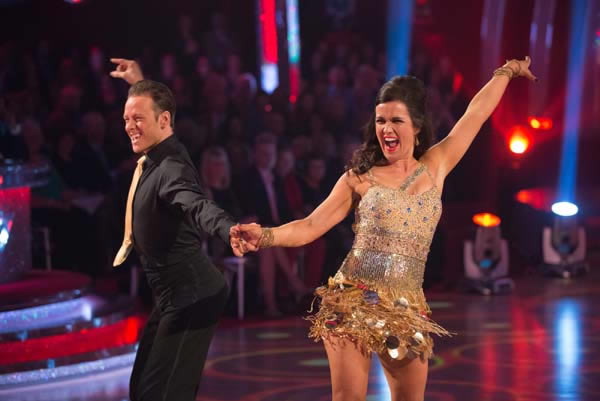 Susanna Reid and Kevin Clifton In Week 9 Of Strictly Come Dancing 2013