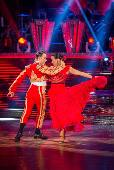 Susanna Reid and Kevin Clifton Perform At Blackpool In Strictly Come Dancing 2013