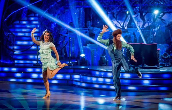 Susanna Reid and Kevin Clifton Perform In Week 6 Of Strictly Come Dancing 2013