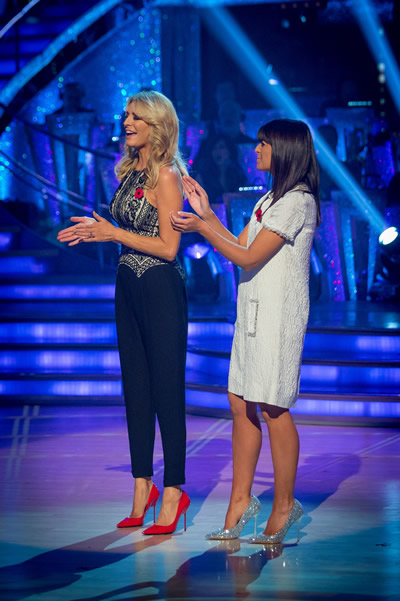Tess Daly And Claudia Winkleman Present The Results Show  Of Strictly Come Dancing 2013