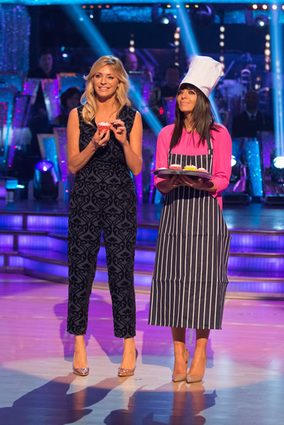 Tess Daly And Claudia Winkleman Present The Week 9 Strictly Come Dancing Results Show