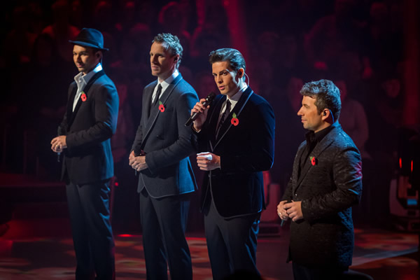 The Tenors Perform On The Results Show Strictly Come Dancing 2013