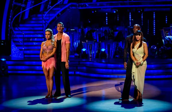 Ashley Taylor Dawson and Ola Jordan Face Patrick Robinson and Anya Garnis In The Week 11 Dance-Off Of Strictly Come Dancing 2013